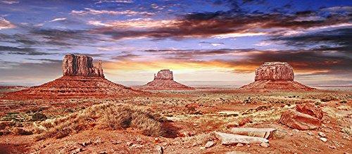 Reptile Habitat, Terrarium Background, Cool Desert Sky - 18 Tall