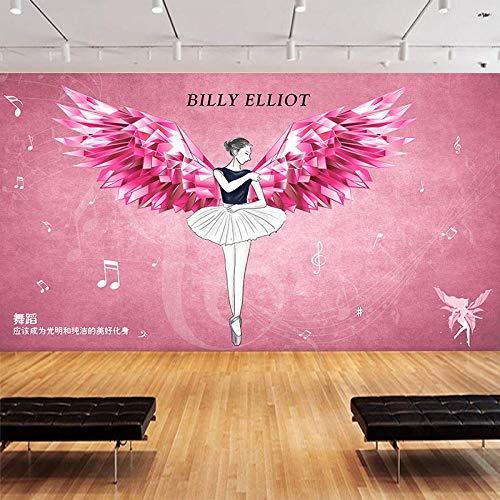 Foto Tapete Tapete Industrie Wind Ballett Tanz Kunst Klassenzimmer Yoga Raum Piano Raum Hintergrundbild @ 400 * 280Cm