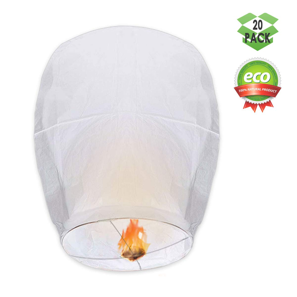 GOCHANGE Chinese Lanterns Pack Paper