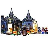 QZPM Conjunto De Luces (Cabaña De Hagrid Rescate De Buckbeak) Modelo De Construcción De Bloques Kit De Luz LED Compatible con Lego 75947, NO Incluido En El Modelo