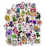 TTBH Anime Dragon Ball Stickers Super Saiyan Goku Stickers Decal For Snowboard Luggage Car Fridge Laptop Moto DIY Sticker50Pcs/Lot