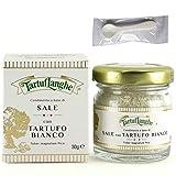 タルトゥフランゲ 白トリュフ塩 30g トリュフ塩 イタリア 贅沢な香りで料理を引き立てる 便利なミニスプーンセット 国内正規品