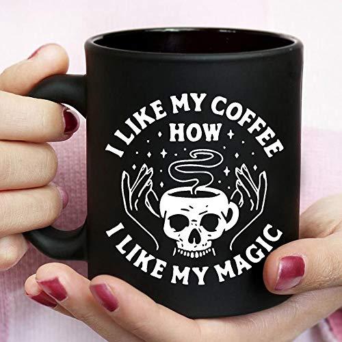 Halloween Mug   I Like My Coffee How I Like My Magic Mug, Coffee Lovers Mug, Magic Mug, Halloween Gift   0509m20