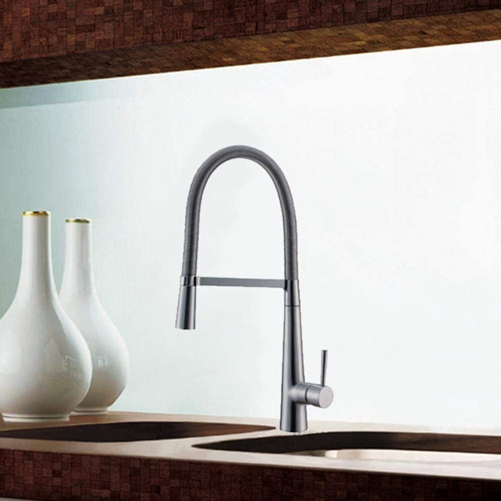 HLL Copper Kitchen Faucet Vertical to Water specialty overseas shop Removable Easy Clean