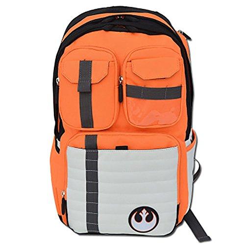 Rebels Alliance Icon Boba Fett Laptop Backpack Element Bag Travel Outdoor Sports Bag (Rebels Alliance Icon)