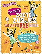 Het grote Zoete Zusjes vakantiedoeboek: Doeboek vol met tekeningen, puzzels, spelletjes, challenges, lekker lezen en knutselen