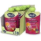 Hero Baby Mi Jelly - Bolsita de Gelatina de Frutas del Bosque, Sin Azúcares Añadidos, para Bebés a Partir de los 36 Meses - Pack de 18 x 100 g