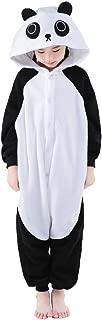 Unisex Children Cute Panda Pyjamas Halloween Costume (10-Height 55-58
