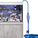 Number-one Fish Tank Cleaner, Aquarium Water Changer Gravel Filter Aquarium Siphon Vacuum Pump Water Changing Sand Washing Adjustable Water Flow with Inbuilt Strainer Outlet Valve Pumping Airbag