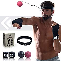 fight ball with headband