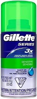 Gillette Series Shave Gel 2.5 Ounce (12 Pieces) Sensitive