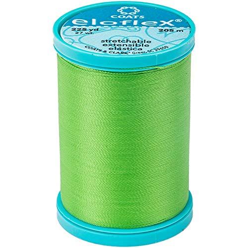 Coats Eloflex Stretch Thread 225yd-lime