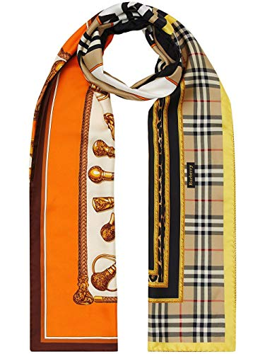 BURBERRY Luxury Fashion Damen 8024785 Multicolour Foulard |