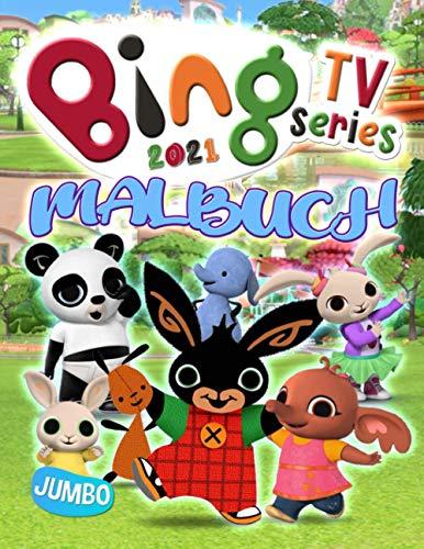 Bing TV Series Malbuch: Bing TV Series 2021 Farbe Und Erstellen Beste Cartoon Unofficial Bilder