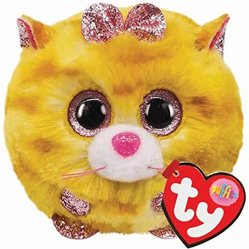 TY 42507 Tabitha Cat Puffies Katze Plüschtier, Mehrfarbig