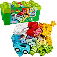 LEGO DUPLO Classic Brick Box 10913 First LEGO Set with Storage Box, Great Educational Toy for Toddlers 18 Months and up,...