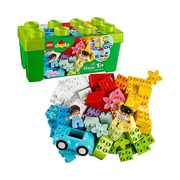 LEGO DUPLO Classic Brick Box 10913 First LEGO Set with Storage Box, Great Educational...