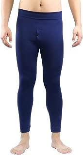 La Dearchuu Mens Fleece Lined Thermal Long Johns Warm Winter Leggings Thermal Underwear Mens Bottoms