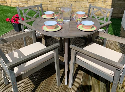 Sol Garden Wooden Outdoor 4 Seater Dining Set