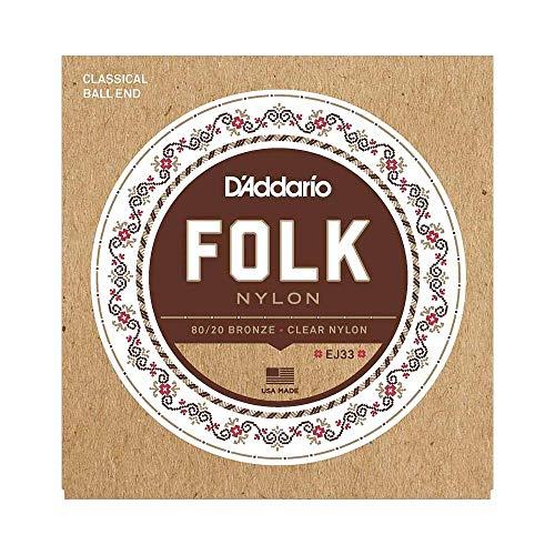 D Addario EJ33 Set Corde Classica Folk Nylon