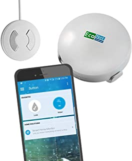 EcoNet Controls Smart Home Leak Sensor EZW1204-3 (Pack of 3), Smart Home Friendly