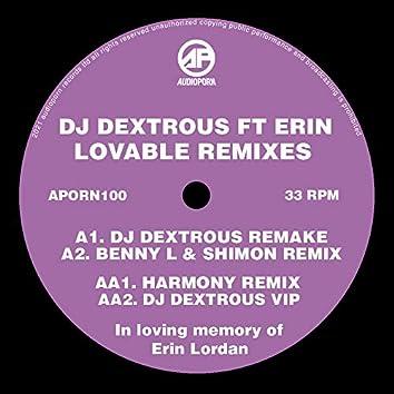 Lovable Remixes (feat. Erin Lordan)