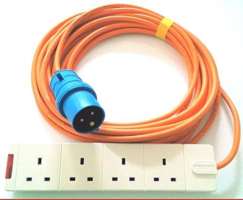 5m Cable de extensión adaptador de 4Vías para tienda de campaña Camping...