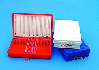 Microscope Slide Box Capacity   White