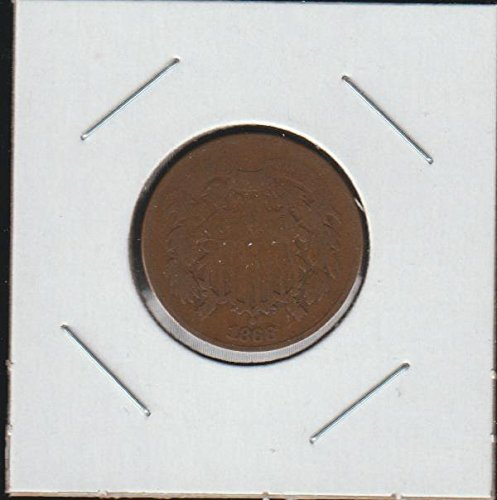 1868 Shield Two Cent (1864-1873) Two-Cent Very Good