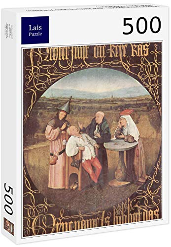 Lais Puzzle Hieronymus Bosch - The Cure from Madness (The Stone Operation) 500 Pezzi
