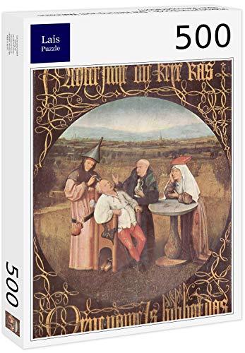 Lais Puzzle Hieronymus Bosch - The Healing of Madness (L'operazione di Pietra) 500 Pezzi