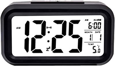 NINGXUE Digital LED Cuadrado Inteligente Electrónico Reloj ...