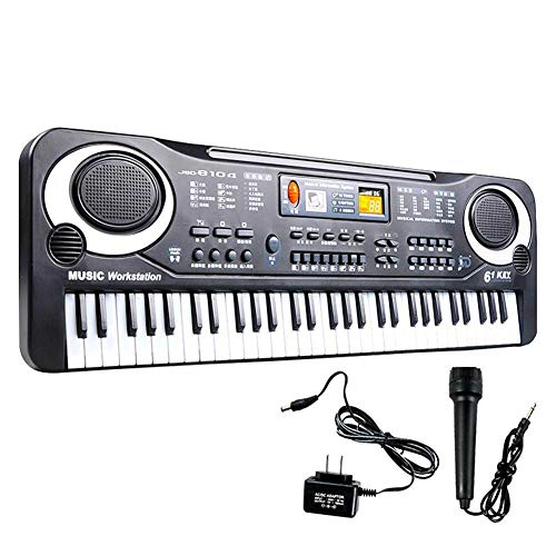 Buy Discount Donteng 61 Keys Digital Music Electronic Keyboard Key Board Electric Piano for Child Ch...