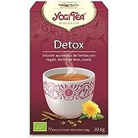 Yogi 2242 - Tea Infusión Aryuvedica Détox con 17 bolsitas, 30.6 gr