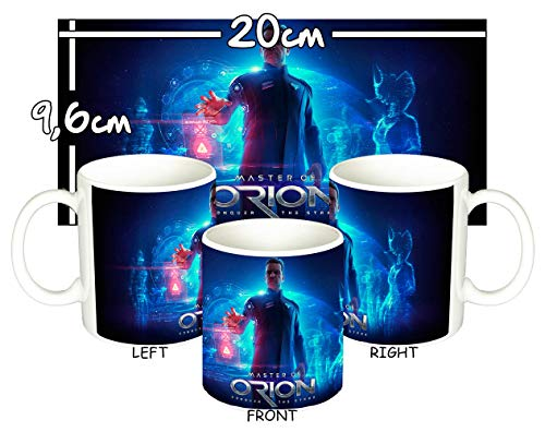 Master of Orion Conquer The Stars Tasse Mug