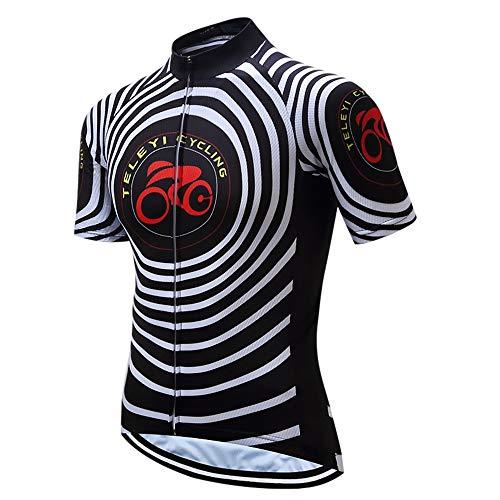 Heren fietsshirt Fietskleding Fietsshirts Tops Ademend Jas