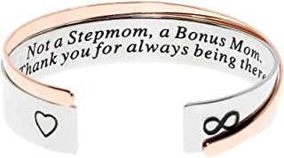 Ms. Clover Not a Stepmom a Bonus Mom Thank You for Always Being There Stepmom Jewelry, Stepmother Birthday Gift