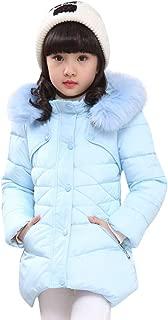 GoodLock - Chamarra con Capucha para bebés y niñas, Abrigos cálidos para niños y niñas, para Invierno, con Capucha Gruesa, Ropa Exterior