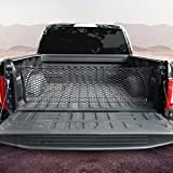 MICTUNING Truck Bed Envelope Style Cargo Storage Elastic Mesh Net Organizer Compatible for 2013-2021 Chevrolet Silverado WT LS LT LTZ