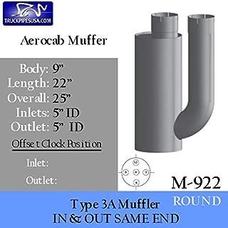 M-922 Type 3A Muffler Kenworth Aerocab High Performance Muffler