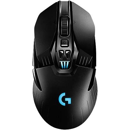 Logitech G903 Lightspeed Wireless Gaming Mouse, 12.000 dpi, RGB, Ligero, 7 a 11 Botones programables, batería de Larga duración, Compatible con PC/Mac, Embalaje de Europa Occidental, Color Negro