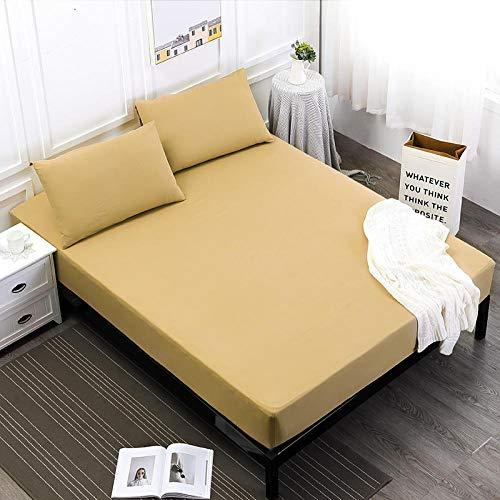 ZJXSNEH 2021 Funda de colchón Impreso Funda de Cama Protector Transpirable Suave colchón Topper Individual,Talla 180X200+25cm