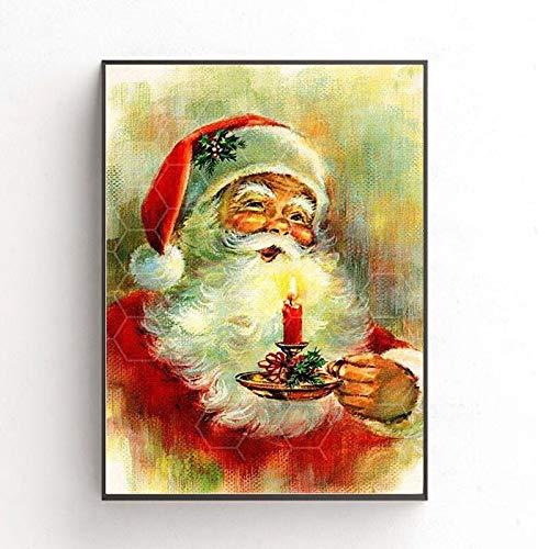 Puzzle 1000 piezas Cartel navideño de pintura serie 49 regalos artísticos puzzle 1000 piezas Rompecabezas de juguete de descompresión intelectual educativo divertido juego fam50x75cm(20x30inch)