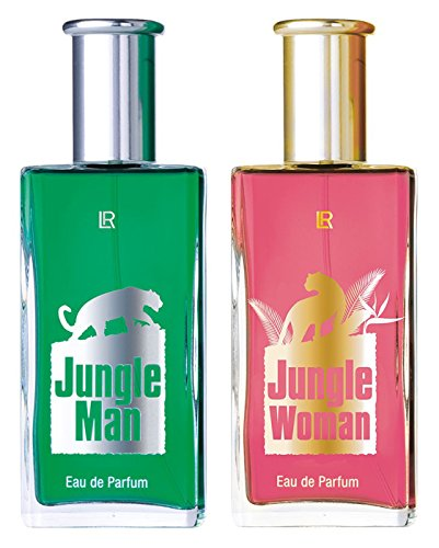LR Nb24 versand lr jungle set eau de parfum for man 50 ml eau de parfum for woman 50 ml 30481-1