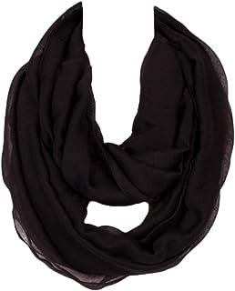 Kingree Fashion Pattern Premium Soft Loop Infinity Scarf Solid Series