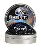 "Crazy Aaron's Thinking Putty 4"" Tin - Cosmic Star Dust - Multi-Color Sparkle Glow Putty, Soft Texture - Never Dries Out"