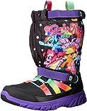 Stride Rite Made 2 Play Sneaker Winter Boot (Toddler/Little Kid), Black/Rainbow, 4 M US Toddler