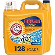 Arm & hammer OxiClean Fresh Scent Liquid Laundry Detergent, 128 loads, 224 Ounce