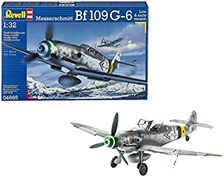 Revell- Messerschmitt Bf109 G-6 Late & Early Version, Kit de Modelo, Escala 1:32 (4665) (04665)