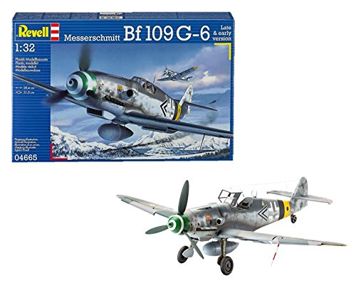 Revell - Messerschmitt Bf109 G-6 Late & Early Version (Escala 1:32)